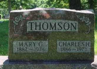 THOMSON, CHARLES H. - Baxter County, Arkansas | CHARLES H. THOMSON - Arkansas Gravestone Photos