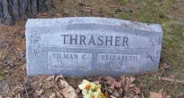 THRASHER, ELIZABETH - Baxter County, Arkansas | ELIZABETH THRASHER - Arkansas Gravestone Photos