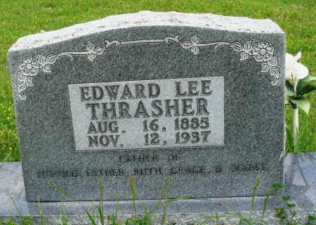 THRASHER, EDWARD LEE - Baxter County, Arkansas   EDWARD LEE THRASHER - Arkansas Gravestone Photos