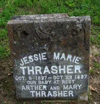THRASHER, JESSIE MARIE - Baxter County, Arkansas | JESSIE MARIE THRASHER - Arkansas Gravestone Photos