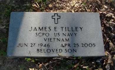 TILLEY  (VETERAN VIET), JAMES E. - Baxter County, Arkansas | JAMES E. TILLEY  (VETERAN VIET) - Arkansas Gravestone Photos