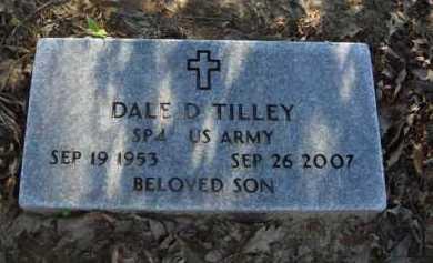 TILLEY  (VETERAN), DALE D. - Baxter County, Arkansas | DALE D. TILLEY  (VETERAN) - Arkansas Gravestone Photos