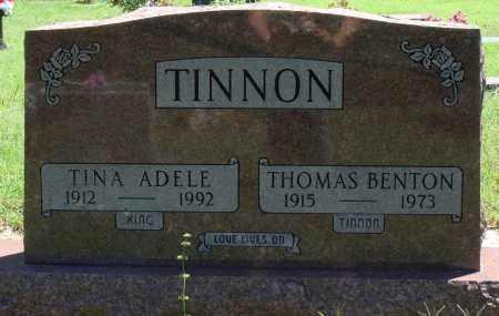 KING TINNON, TINA ADELE - Baxter County, Arkansas | TINA ADELE KING TINNON - Arkansas Gravestone Photos