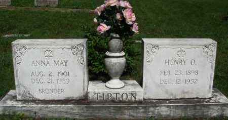 TIPTON, ANNA MAY - Baxter County, Arkansas | ANNA MAY TIPTON - Arkansas Gravestone Photos