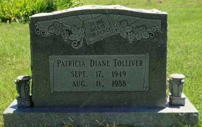TOLLIVER, PATRICIA DIANE - Baxter County, Arkansas   PATRICIA DIANE TOLLIVER - Arkansas Gravestone Photos