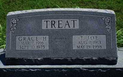 TREAT, T. JOE - Baxter County, Arkansas | T. JOE TREAT - Arkansas Gravestone Photos