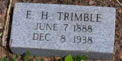 TRIMBLE, E. HOLLOWELL - Baxter County, Arkansas | E. HOLLOWELL TRIMBLE - Arkansas Gravestone Photos