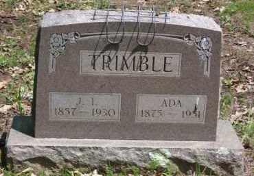 TRIMBLE, JAMES IRWIN - Baxter County, Arkansas | JAMES IRWIN TRIMBLE - Arkansas Gravestone Photos