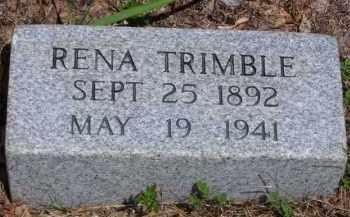 TRIMBLE, RENA - Baxter County, Arkansas   RENA TRIMBLE - Arkansas Gravestone Photos
