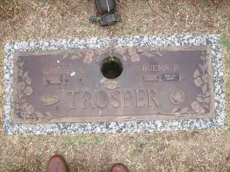TROSPER, BUENA F. - Baxter County, Arkansas   BUENA F. TROSPER - Arkansas Gravestone Photos