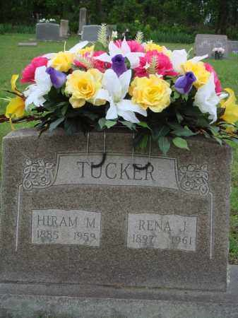 TUCKER, HIRAM M - Baxter County, Arkansas   HIRAM M TUCKER - Arkansas Gravestone Photos