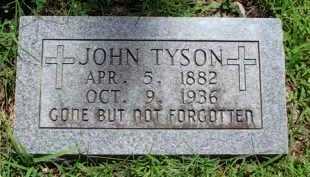 TYSON, JOHN - Baxter County, Arkansas   JOHN TYSON - Arkansas Gravestone Photos