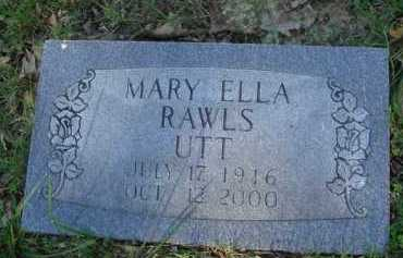 UTT, MARY ELLA - Baxter County, Arkansas | MARY ELLA UTT - Arkansas Gravestone Photos