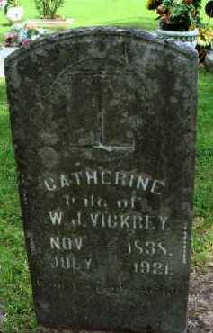 VICKREY, CATHERINE - Baxter County, Arkansas | CATHERINE VICKREY - Arkansas Gravestone Photos