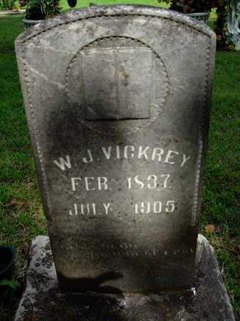 VICKREY, W. J. - Baxter County, Arkansas   W. J. VICKREY - Arkansas Gravestone Photos