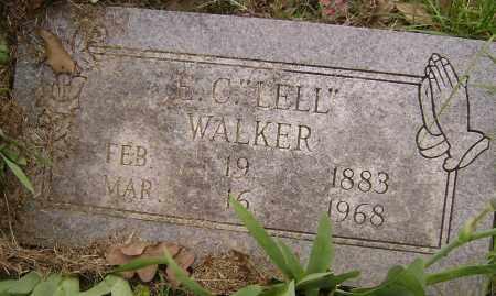 WALKER, E. C. LELL - Baxter County, Arkansas | E. C. LELL WALKER - Arkansas Gravestone Photos