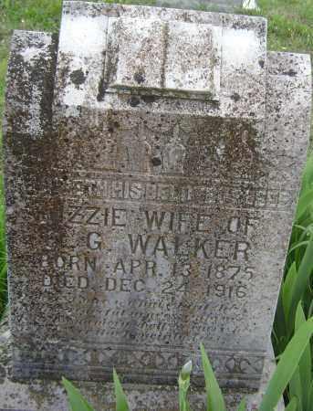 WALKER, LIZZIE - Baxter County, Arkansas | LIZZIE WALKER - Arkansas Gravestone Photos