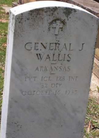 WALLIS  (VETERAN), GENERAL JACKSON - Baxter County, Arkansas   GENERAL JACKSON WALLIS  (VETERAN) - Arkansas Gravestone Photos