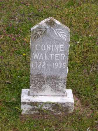 WALTER, CORINE - Baxter County, Arkansas | CORINE WALTER - Arkansas Gravestone Photos