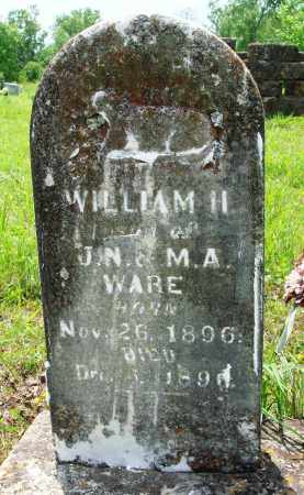 WARE, WILLIAM H - Baxter County, Arkansas | WILLIAM H WARE - Arkansas Gravestone Photos