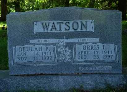 WATSON, ORRIS L. - Baxter County, Arkansas | ORRIS L. WATSON - Arkansas Gravestone Photos