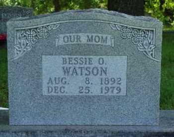 WATSON, BESSIE O. - Baxter County, Arkansas | BESSIE O. WATSON - Arkansas Gravestone Photos