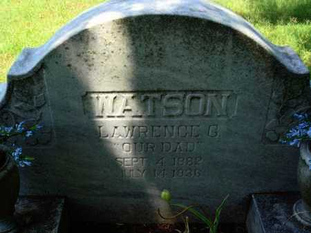 WATSON, LAWRENCE G. - Baxter County, Arkansas | LAWRENCE G. WATSON - Arkansas Gravestone Photos