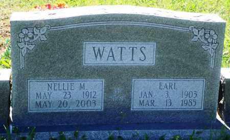 WATTS, NELLIE M - Baxter County, Arkansas | NELLIE M WATTS - Arkansas Gravestone Photos