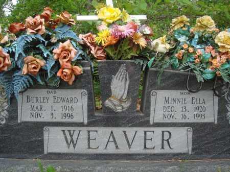 WEAVER, BURLEY EDWARD - Baxter County, Arkansas | BURLEY EDWARD WEAVER - Arkansas Gravestone Photos