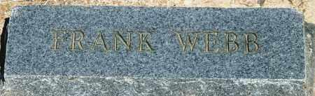 WEBB, FRANK - Baxter County, Arkansas | FRANK WEBB - Arkansas Gravestone Photos