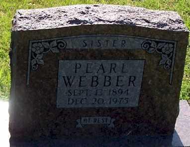 WEBBER, IONA PEARL - Baxter County, Arkansas | IONA PEARL WEBBER - Arkansas Gravestone Photos