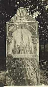 WEBBER, NEWTON - Baxter County, Arkansas | NEWTON WEBBER - Arkansas Gravestone Photos