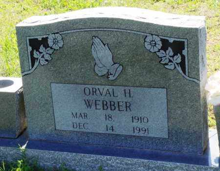 WEBBER, ORVAL H - Baxter County, Arkansas | ORVAL H WEBBER - Arkansas Gravestone Photos