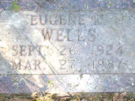 WELLS, EUGENE L. - Baxter County, Arkansas | EUGENE L. WELLS - Arkansas Gravestone Photos