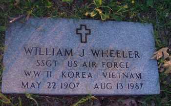 WHEELER  (VETERAN 3 WARS), WILLIAM J - Baxter County, Arkansas | WILLIAM J WHEELER  (VETERAN 3 WARS) - Arkansas Gravestone Photos