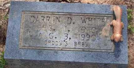 WHITE, DARREN D. - Baxter County, Arkansas | DARREN D. WHITE - Arkansas Gravestone Photos