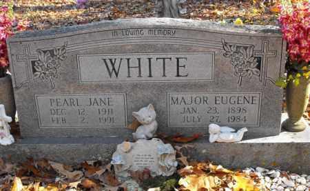 WHITE, MAJOR EUGENE - Baxter County, Arkansas | MAJOR EUGENE WHITE - Arkansas Gravestone Photos