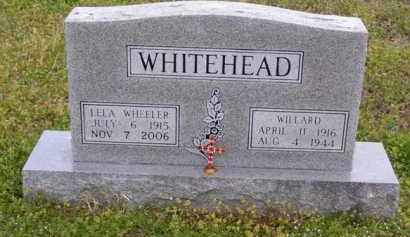 WHITEHEAD (2), WILLARD - Baxter County, Arkansas | WILLARD WHITEHEAD (2) - Arkansas Gravestone Photos