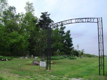*, WHITEVILLE CEMETERY GATE - Baxter County, Arkansas | WHITEVILLE CEMETERY GATE * - Arkansas Gravestone Photos