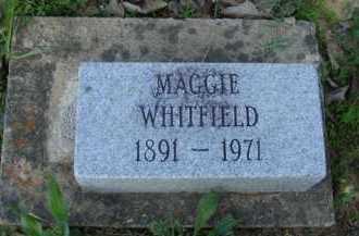 WHITFIELD, MAGGIE - Baxter County, Arkansas | MAGGIE WHITFIELD - Arkansas Gravestone Photos