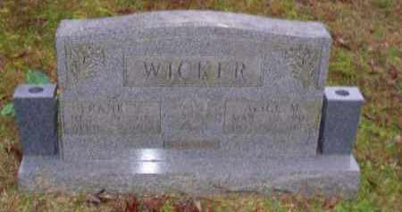 WICKER, ALICE MARION - Baxter County, Arkansas | ALICE MARION WICKER - Arkansas Gravestone Photos