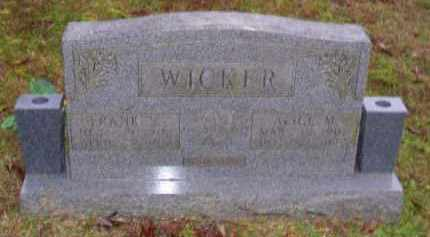 WICKER, FRANK S. - Baxter County, Arkansas | FRANK S. WICKER - Arkansas Gravestone Photos