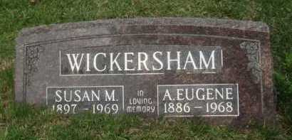 WICKERSHAM, A. EUGENE - Baxter County, Arkansas | A. EUGENE WICKERSHAM - Arkansas Gravestone Photos