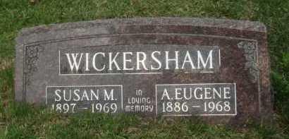 WICKERSHAM, SUSAN M. - Baxter County, Arkansas | SUSAN M. WICKERSHAM - Arkansas Gravestone Photos