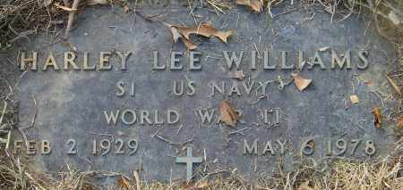WILLIAMS (VETERAN WWII), HARLEY LEE - Baxter County, Arkansas | HARLEY LEE WILLIAMS (VETERAN WWII) - Arkansas Gravestone Photos