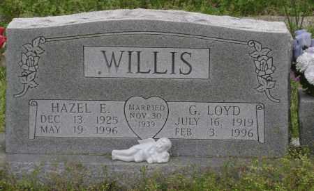 WILLIS, HAZEL E. - Baxter County, Arkansas   HAZEL E. WILLIS - Arkansas Gravestone Photos