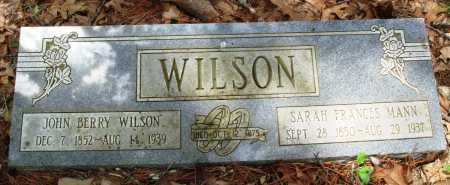WILSON, JOHN BERRY - Baxter County, Arkansas | JOHN BERRY WILSON - Arkansas Gravestone Photos