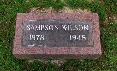 WILSON, SAMPSON - Baxter County, Arkansas   SAMPSON WILSON - Arkansas Gravestone Photos
