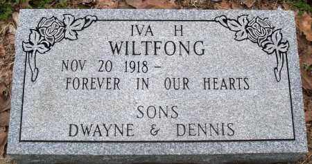 WILTFONG, IVA H - Baxter County, Arkansas | IVA H WILTFONG - Arkansas Gravestone Photos