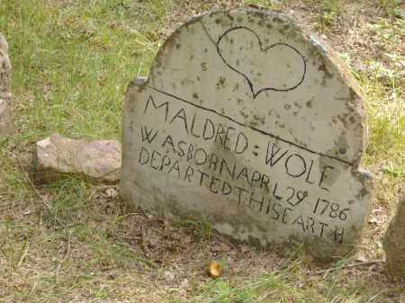WOLF, MALDRED - Baxter County, Arkansas | MALDRED WOLF - Arkansas Gravestone Photos